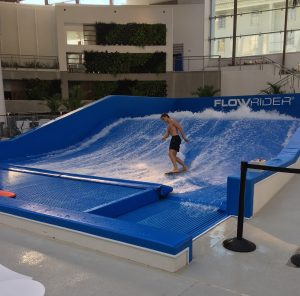 Flow Rider indoor water park Nashville
