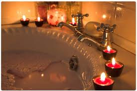mom self care relax bath