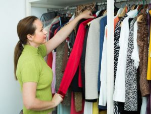 professional organizer advice clean closet
