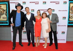 Bennett's War movie red carpet in nashville, tn