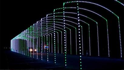 dancing lights of Christmas Nashville Christmas lights