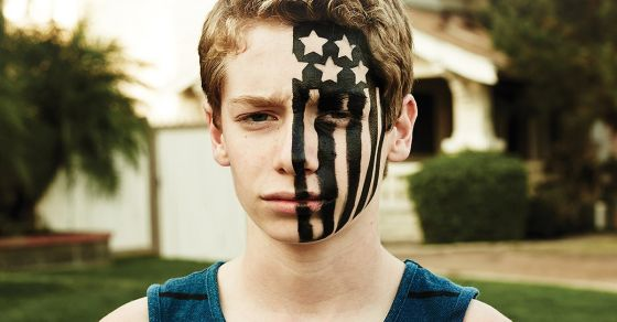 Fall out boy american beauty american psycho album cover