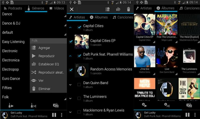 Rocket android music player apps template