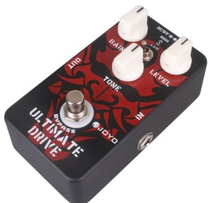 Distortion pedal for Beginner - Joyo JF-02 Ultimate Overdrive