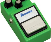 Ibanez Tube Scremer, The Legendary and Iconic Overdrive Guitar Effect