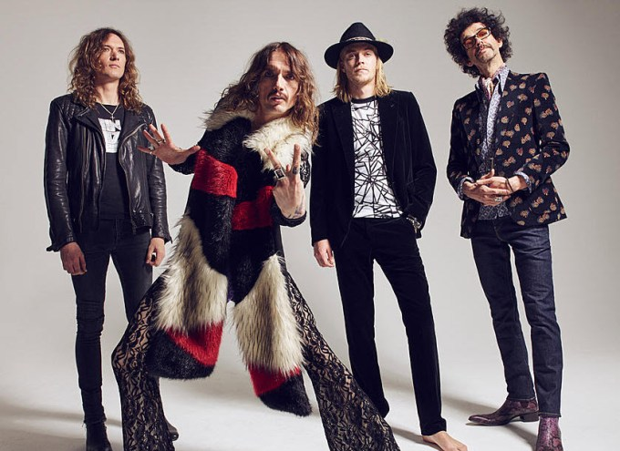 The Darkness the band from British