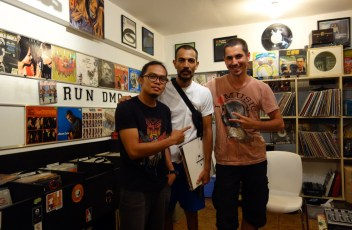 Storekeeper Gon Borela, Mhed - good philipino hip-hop DJ and me