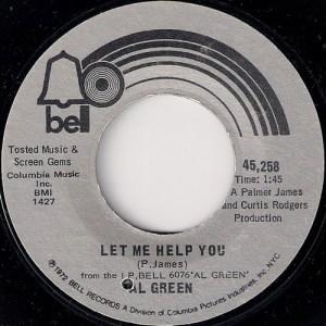 продаю винил Al Green - Let Me Help You, Bell Records