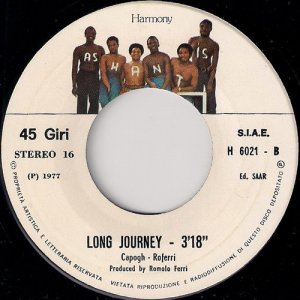 Ashantis - Long Journey, Harmony 7""