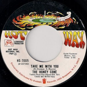 """Honey Cone - Take Me With You, Hot Wax 7"""""""
