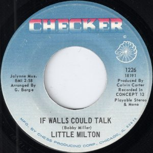 Little Milton - If Walls Could Talk, Checker