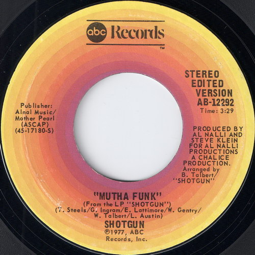 Shotgun - Mutha Funk, ABC records 7""
