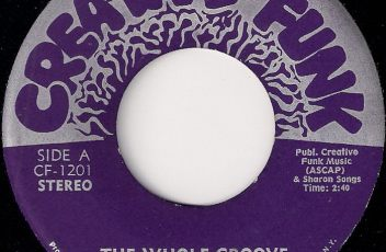 Creative Funk - The Whole Groove, Creative Funk 7""