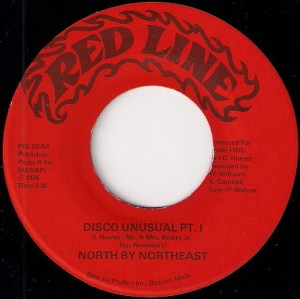 North by Northeast - Disco Unusual, Red Line 7""