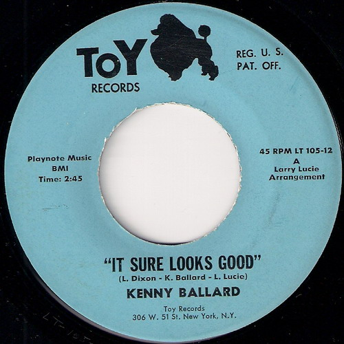 Kenny Ballard - It Sure Looks Good, Toy 45