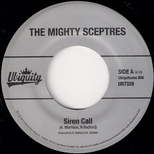 The Mighty Sceptres - Siren Call, Ubiquity 45