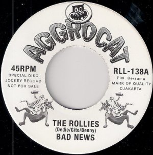 The Rollies – Bad News, Aggrocat 45