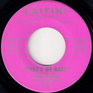 Jeri Shaw - That's My Baby, Laitini 45