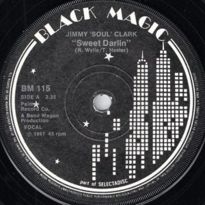 Jimmy Soul Clark - Sweet Darlin', Black Magic 45