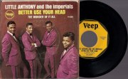 Little Anthony and the Imperials - Better Use Your Head, Veep 45 with PS