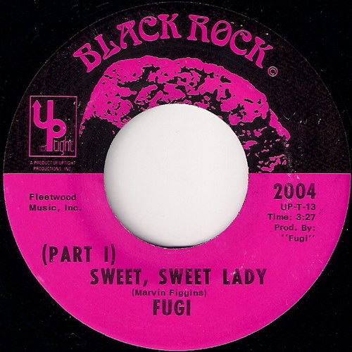 Fugi - Sweet, Sweet Lady, Black Rock 45