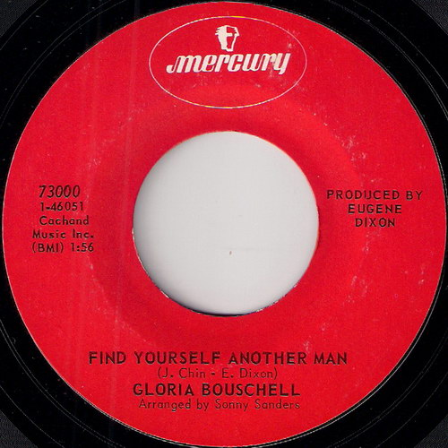 Gloria Bouschell - Find Yourself Another Man, Mercury 45