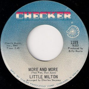 Little Milton - More And More, Checker 45