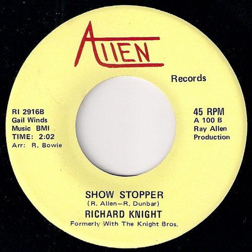 Richard Knight - Show Stopper, Allen 45