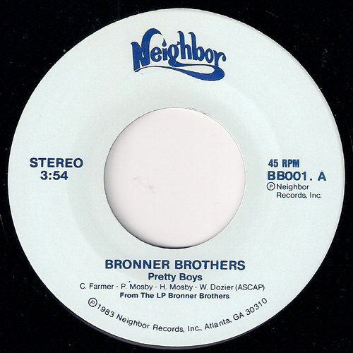 Bronner Brothers - Pretty Boys, Neighbor 45