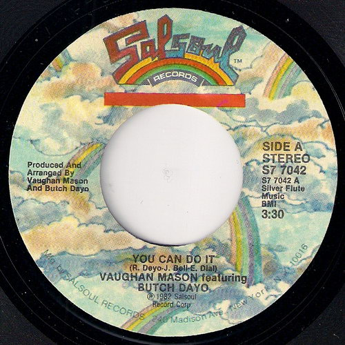 Vaughan Mason Featuring Butch Dayo - You Can Do It, Salsoul 45