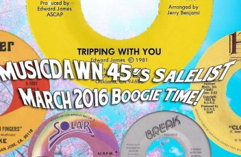 Musicdawn March 2016 Boogie Time! Salelist