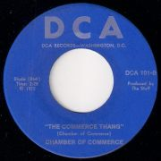 Chamber Of Commerce - The Commerce Thang, DCA Records 45