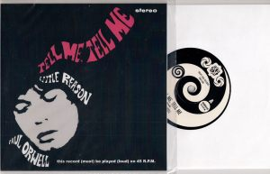 Paul Orwell - Tell Me, Tell Me, Heavy Soul Records 45 in Picture Sleeve