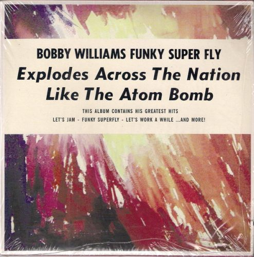 Bobby Williams - Funky Superfly - His Greatest Hits (3 x 7 single box set), Jazzman 45's