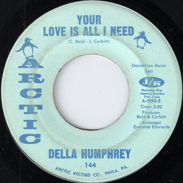 Della Humphrey - Your Love Is All I Need [Arctic]