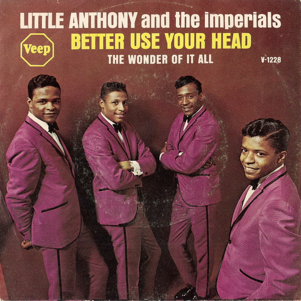 Little Anthony and the Imperials - Better Use Your Head [Picture Sleeve]