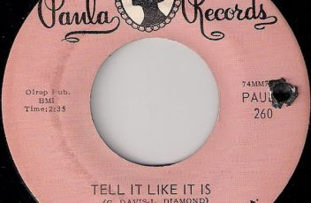 The Boogie Kings - Tell It Like It Is (Paula Records)