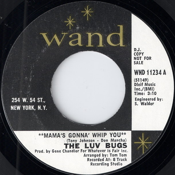 The_The Luv Bugs - Mama's Gonna' Whip You [Wand]