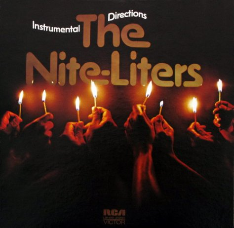 The Nite-Liters - Instrumental Directions - RCA Front Cover Art