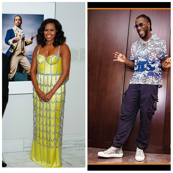 "Michelle Obama lists Burna Boy's ""My Money My Baby"" for her 2020 workout playlist"