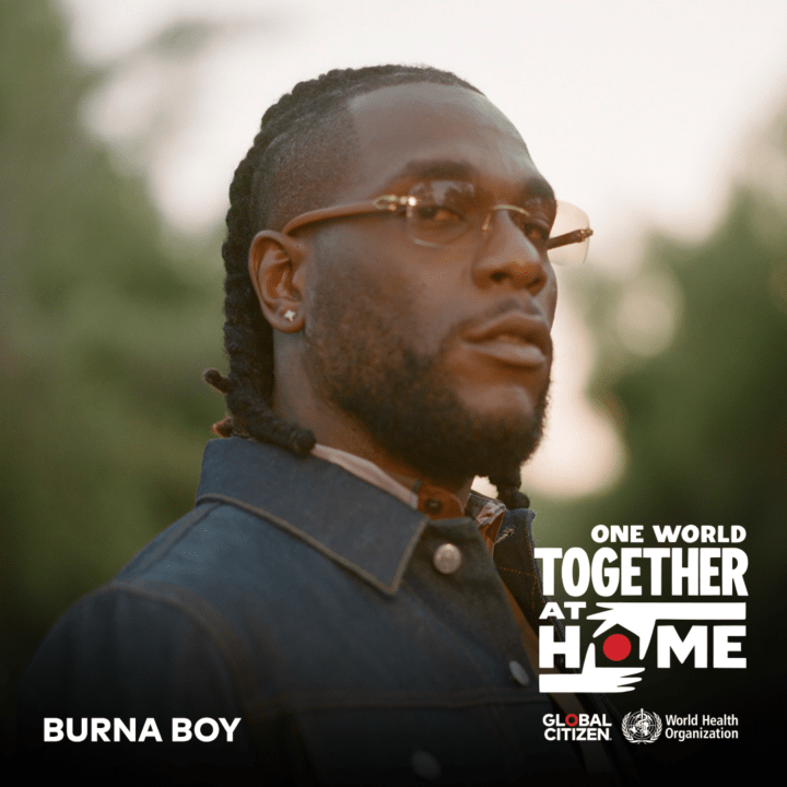 Burna Boy Sends Love With African Giant Performance At Home