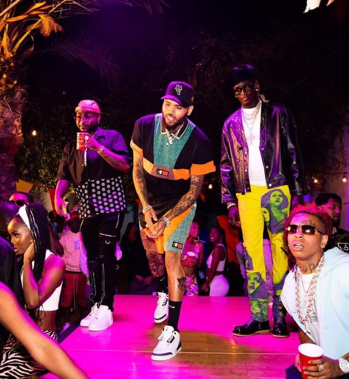 Music : Davido ft Chris Brown &  Young Thug Carry Go