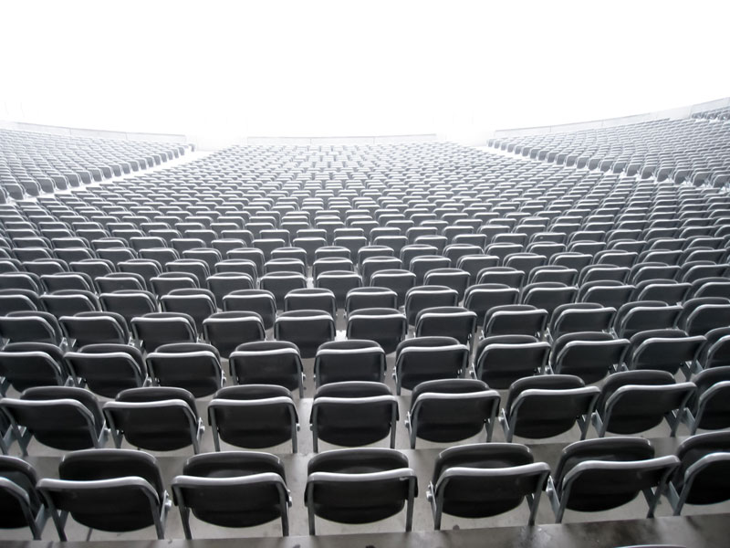 How to Cope with Disappointing Audience Turnouts