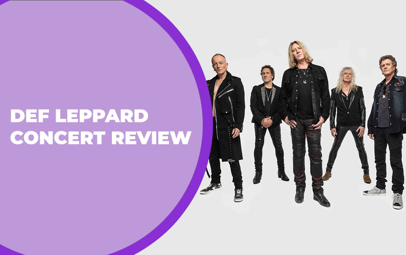 Def Leppard at the Scotiabank Saddledome on April 22, 2015 Concert Review