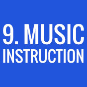 9. Music Instruction