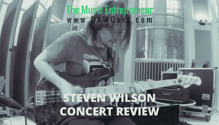Steven Wilson at MacEwan Hall on June 23, 2015 Concert Review