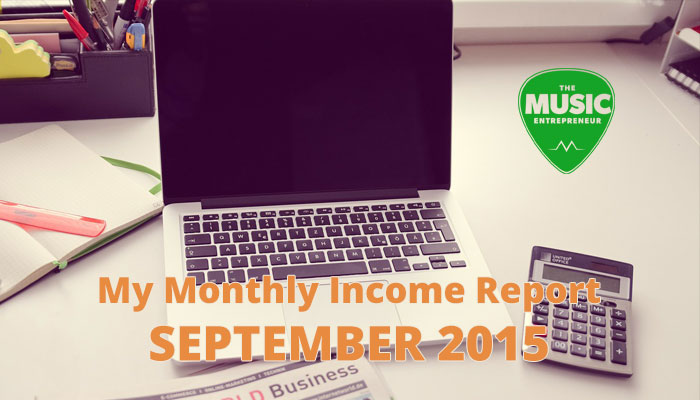 My September 2015 Monthly Income Report