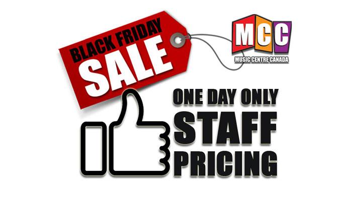 Music Centre Canada's Black Friday Sale