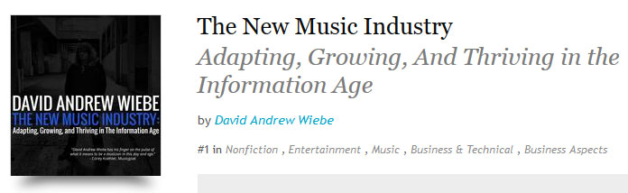 The New Music Industry - #1 on Kobo