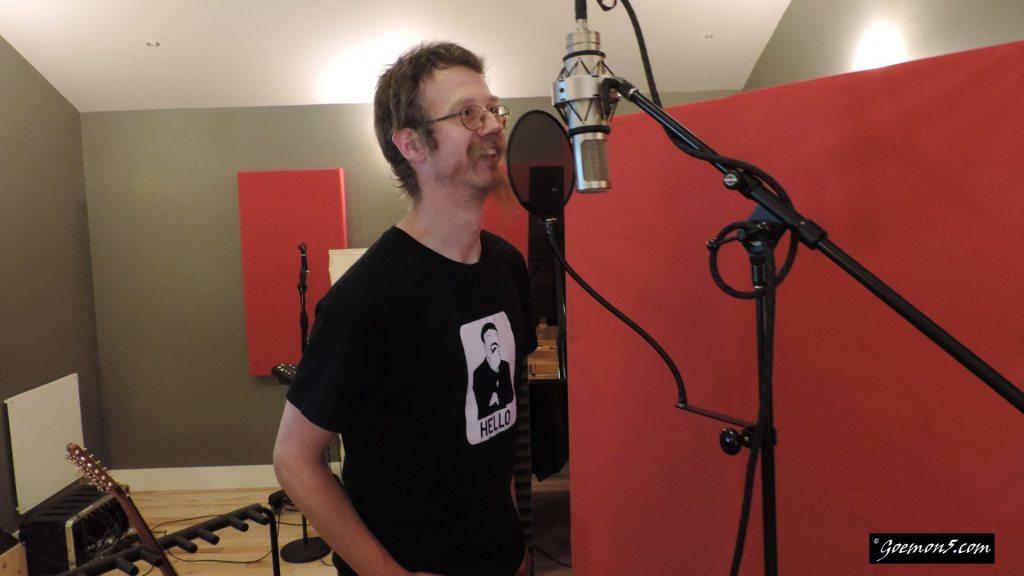 Goemon5 in the studio